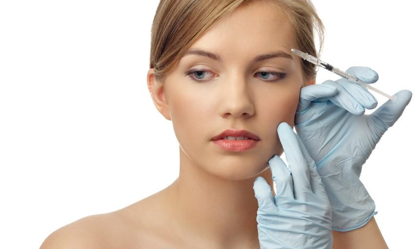 O Botox e o preenchimento com ácido hialurônico