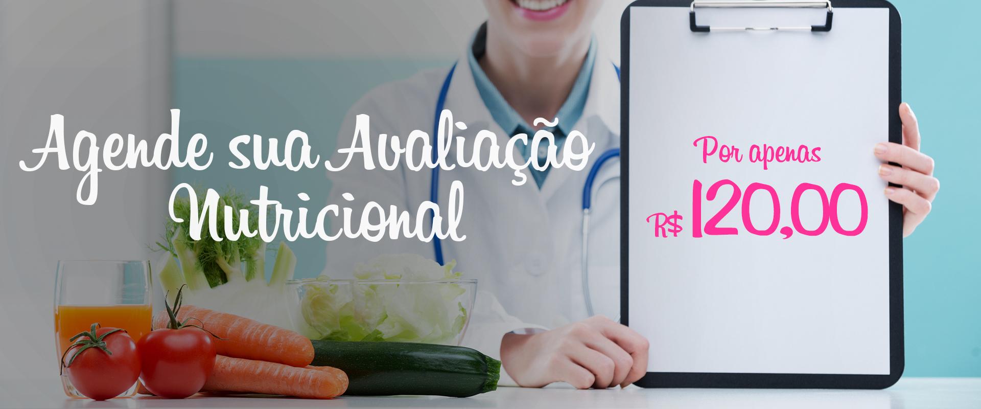 AGENDE SUA AVALIAÇÃO NUTRICIONAL